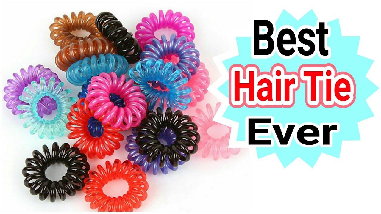Waterproof Plastic Hair Tie Review