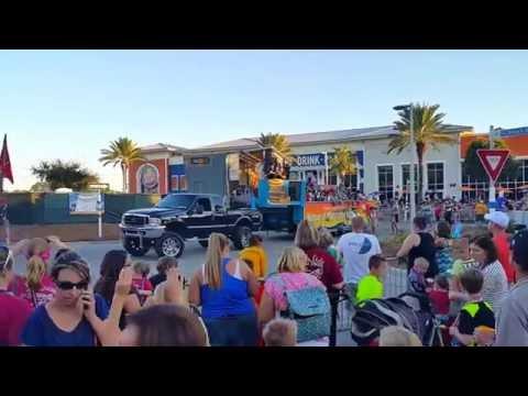 Pirate's Fest Main Parade 2016 - Panama City Beach, Fl. - Pier Park