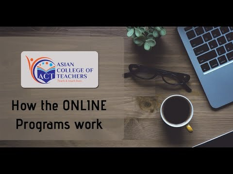 How the course works - Asian College of Teachers | Demo
