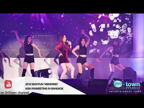 181117 - 2018 SEOHYUN 'MEMORIES' ASIA FANMEETING IN BANGKOK
