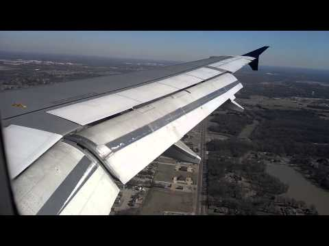 Landing at Memphis Intl Airport