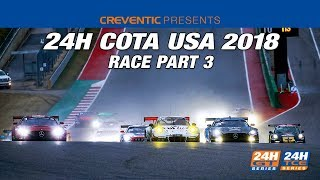 Hankook 24H COTA 2018   Part 3