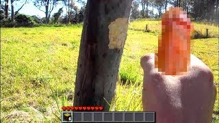 REALISTIC MINECRAFT IN REAL LIFE // DYNAMITE IN REAL LIFE