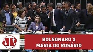 Bolsonaro se envolve em novo embate com Maria do Rosário | Jovem Pan