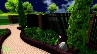 видео Хвойные композиции в ландшафтном дизайне сада: основы обустройства