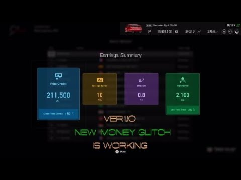 Gran Turismo Sport Money Glitch >> Gran Turismo Sport *Edit Patch *Ver1.10 New Money Glitch is still Work (Doesn't Work) - YouTube
