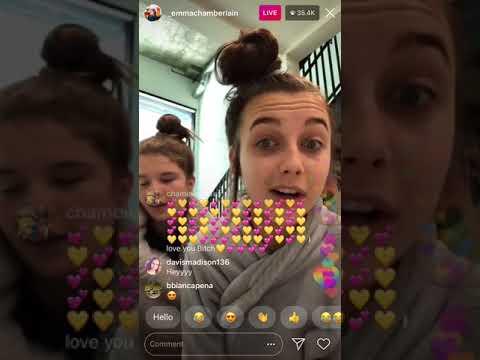 Emma Chamberlain Livestream 7/23/18 Part 1