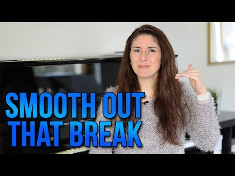 Smooth out that Break!!! How to avoid flipping from HEAD VOICE into CHEST VOICE