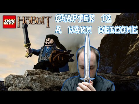 Lego The Hobbit Chapter 12: A Warm Welcome - Full Episode Gameplay Playthrough