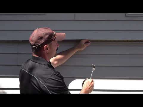 How To Replace One Piece Of Vinyl Siding (Mid-Wall)