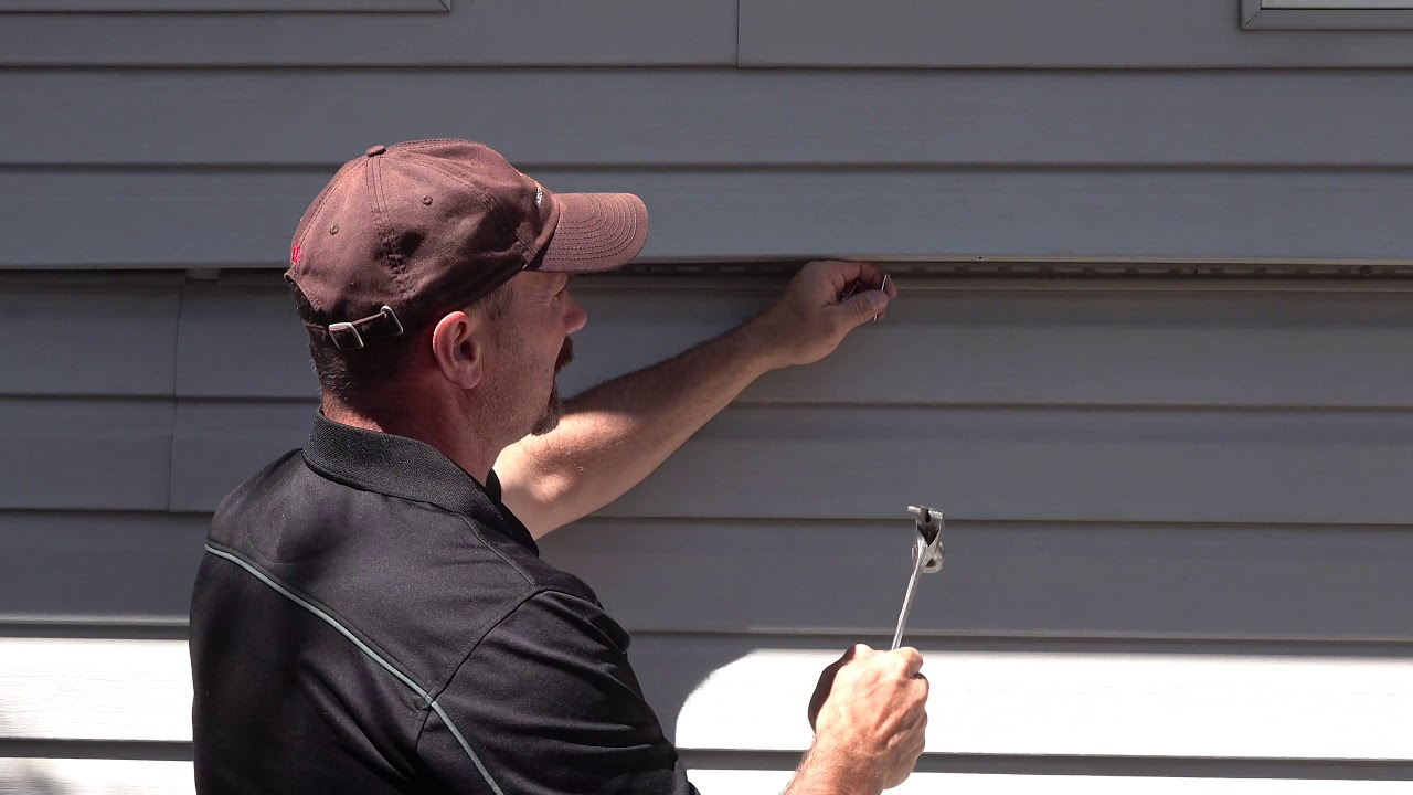 How To Replace One Piece Of Vinyl Siding Mid Wall You
