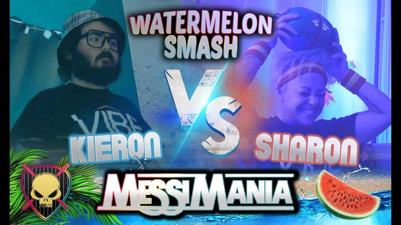 Watermelon Smash: Kieron vs Sharon