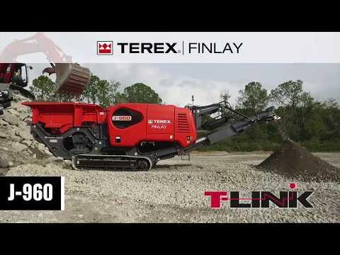 Terex Finlay J-960 Jaw Crusher | Concrete Recycling | OPS Screening & Crushing