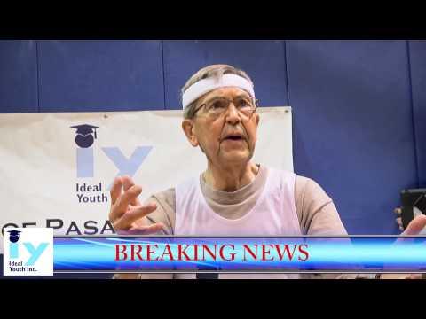 #Pasadena Mayor Bill Bogaard Keeps It #OneHundred Ideal Youth Mayor Challenge Staple Center