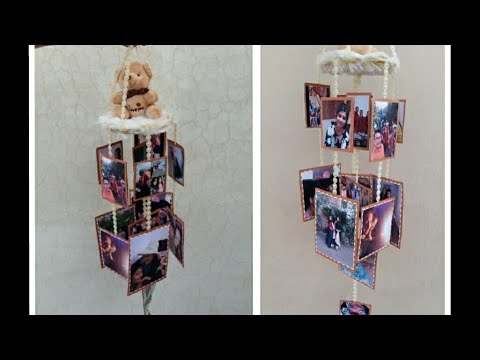Photo wind chime{Tutorial}#b'day gift#by Deep Panesar#A3 All About Art