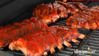 How To Use Bbq Grill To Barbeque Ribs Allrecipes