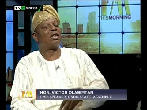 My ordeal in the hands of kidnappers - Former Ondo Speaker Victor Olabimtan