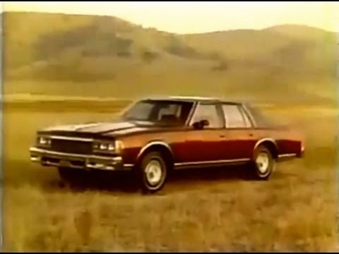 Chevrolet Caprice Commercial (1977)