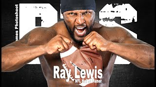 Gregory James BTS Flashback 2010 | Ray Lewis Fitness Cover Photoshoot