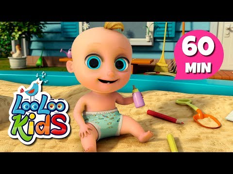 One, Two, Buckle My Shoe - The Best Songs for Children | LooLoo Kids