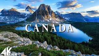 Canada 4K - Relaxing Music Along With Beautiful Nature Videos