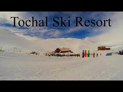 Tochal Ski Resort - TimeLapse Iran