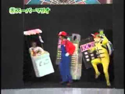 Japanese puppet show - Super Mario - WELOL.ORG