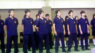関東国際高校 Seasons of Love (live) by 3-sugi chorus contest 2011