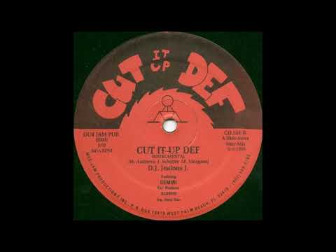 D J Jealous J Featuring Gemini-Cut It Up Def (Instrumenta)
