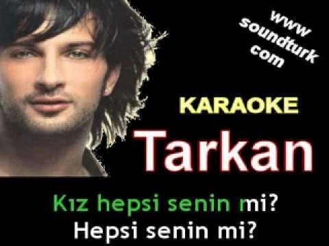Tarkan - Oynama Şıkıdım - (Hepsi Senin Mi) karaoke