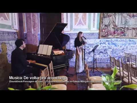 Luciana Araujo apresenta música para casamento