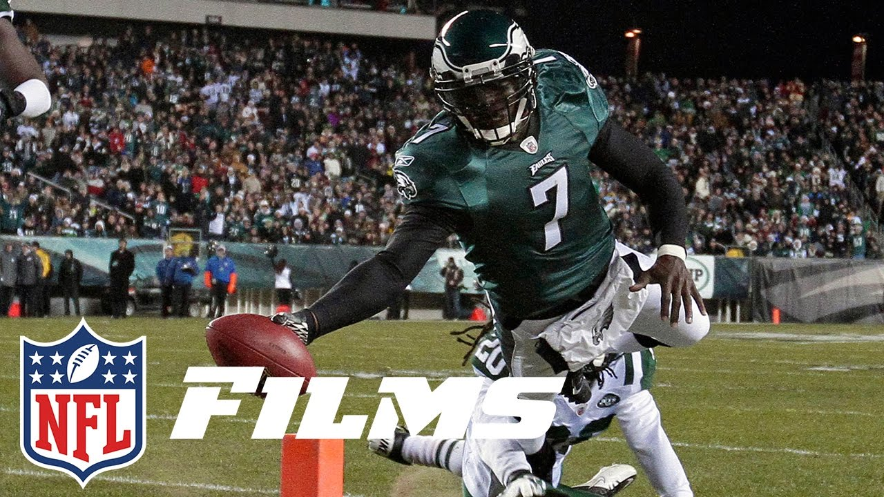 low priced 391be 977f9 Michael Vick Makes His Return to the NFL with the Eagles | Mike Vick: A  Football Life | NFL Films