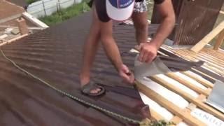 видео Как правильно резать металлочерепицу