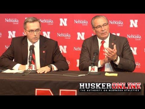 HOL HD: Nebraska introduces new Athletic Director Bill Moose