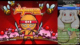 Ninjabread Man All Levels NMG PC in 11:20