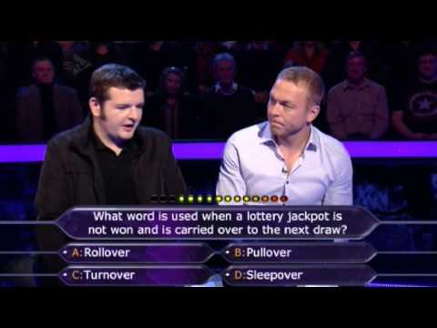 Who Wants to be a Millionaire?-4th Febuary 2014- Chris Tarra