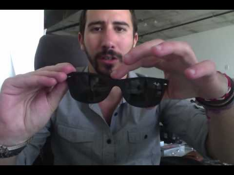 905f0926be Ray-Ban RB 2132 622 Black Rubber Wayfarers Review - YouTube