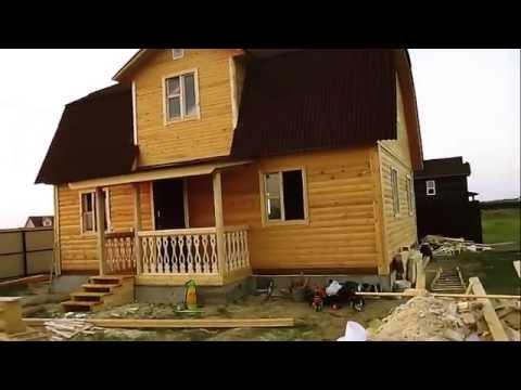 Дом 6х9 из профилированного бруса