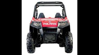 Polaris Rzr 800 2008 2013 Service Manual Wiring Diagram Owners Manual Youtube