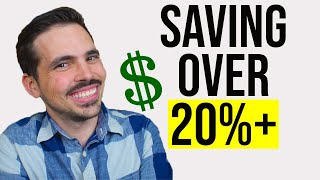 How We Save More Than 20% of Our Income - Financial Freedom Journey