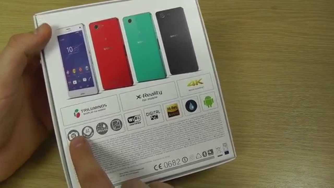 sony xperia z3 compact unboxing hands on youtube. Black Bedroom Furniture Sets. Home Design Ideas