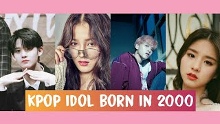 K-Pop Idol Born In 2000
