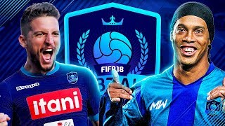 F8TAL PRIME RONALDINHO VS 90 MERTENS | KNOCKOUT STAGES VS ITANI!! - FIFA 18 ULTIMATE TEAM