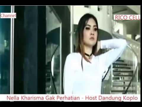 Nella Kharisma - Gak Perhatian - Host Dangdut Koplo