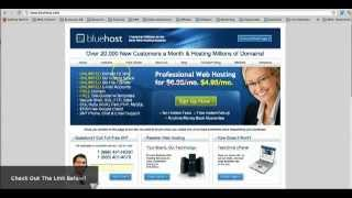 Bluehost Review - Cheap Web Hosting Service!