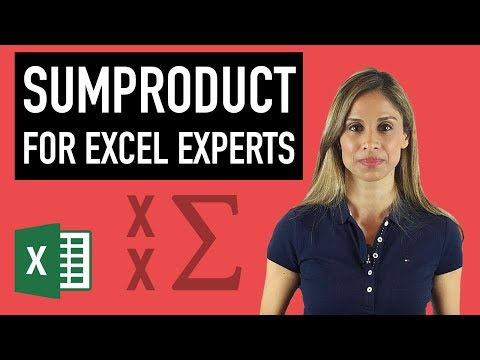 Master Excel's SUMPRODUCT Formula