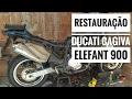 Ducati Cagiva Elefant 900: Restauração #1
