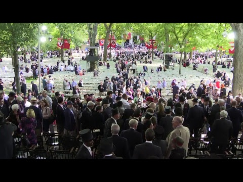 Harvard University's 367th Commencement | May 24, 2018