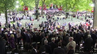 Harvard University's 367th Commencement Afternoon Exercises   May 24, 2018