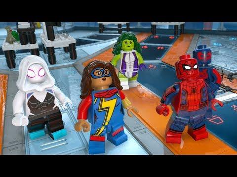 lego-marvel-super-heroes-2-part-11-symbiote-surprise-(spider-gwen,-spider-man-2099,-she-hulk,-carnom